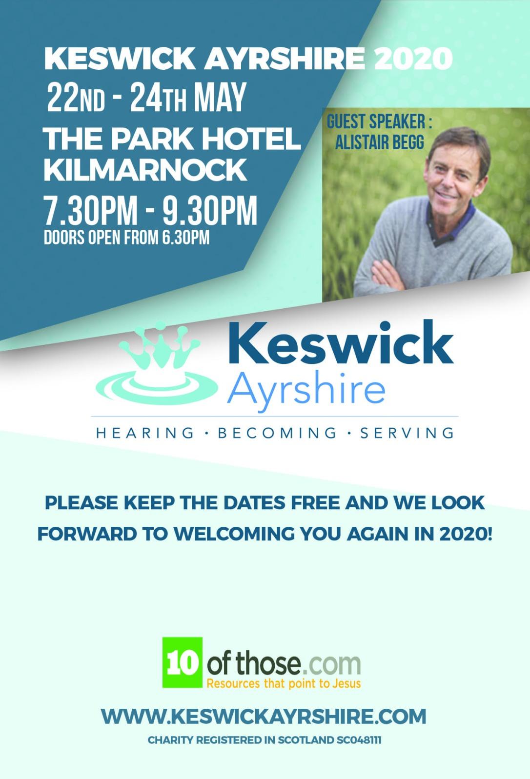 Keswick Ayrshire 2020 version 2